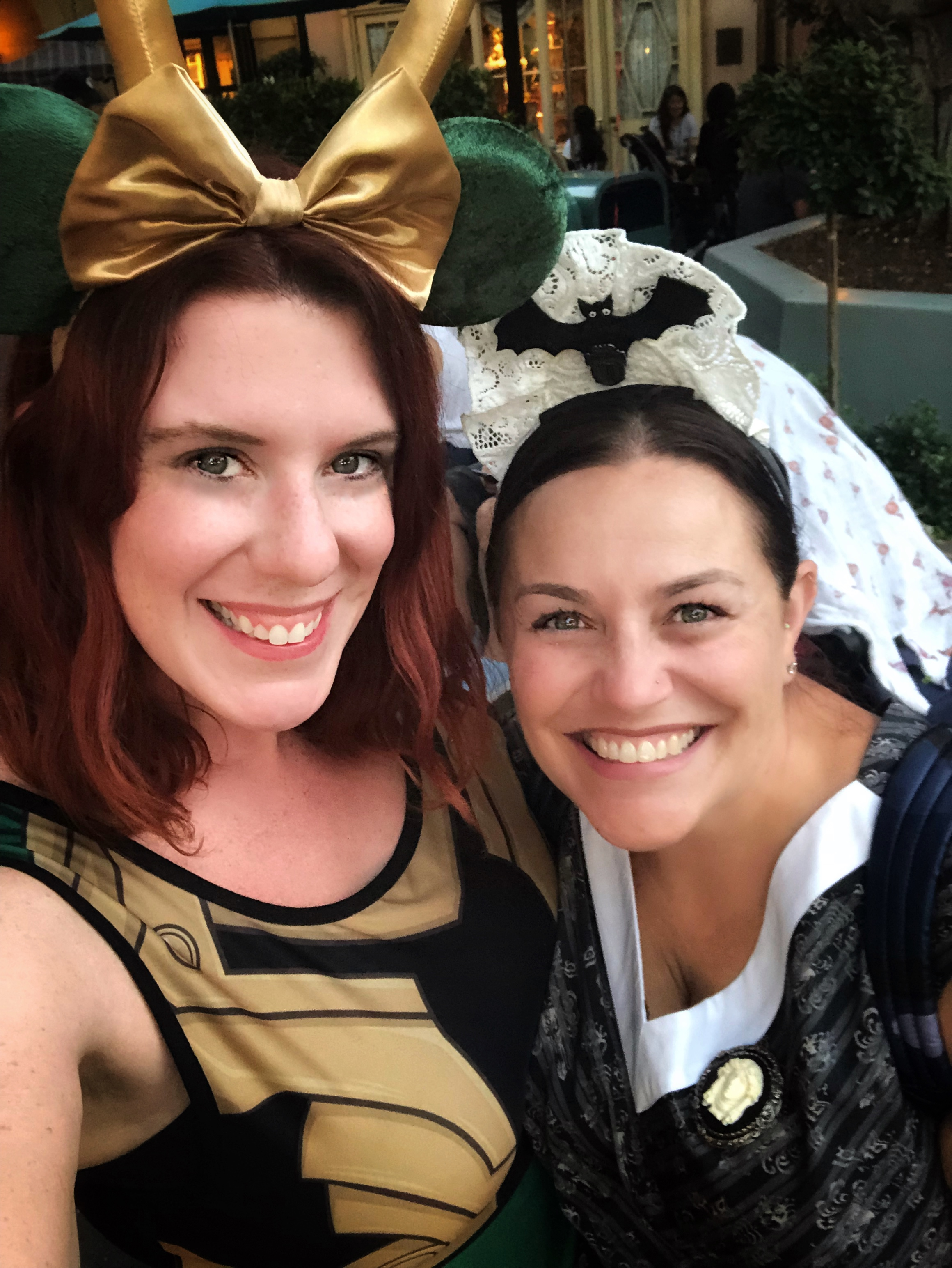Ashley and Jana at Disneyland