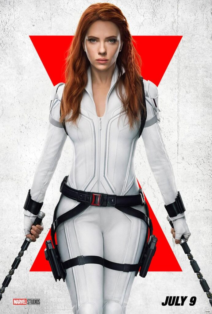 black widow July 9 release poster